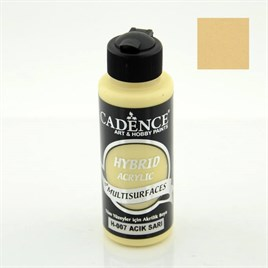 Cadence H007 Açık Sarı - Multisurfaces Akrilik Boya 120ml